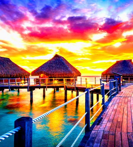 Voyage à Bora Bora avec une agence de voyages