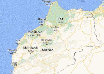 Carte du Maroc voyage sur-mesure